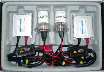 EasyLight HB1/9004 - Ксенон система HB1/9004 само къси за кола DC тип 35W - 200% светлина, малки баласти, 6 м. пълна гаранция