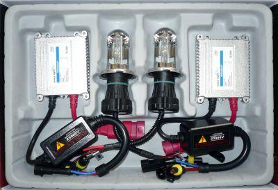 EasyLight S1/S2/BA20D - Ксенон система S1/S2/BA20D биксенон за кола DC тип 35W - 200% светлина, малки баласти, 6 м. пълна гаранция
