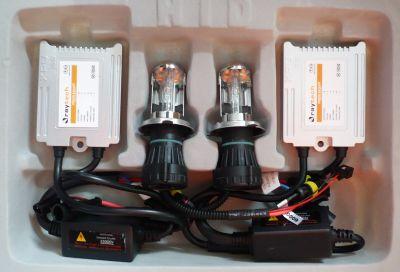 RayTech HB5/9007 - Ксенон система HB5/9007 биксенон за кола AC тип 35W - 300% светлина, малки баласти, 24 м. пълна гаранция