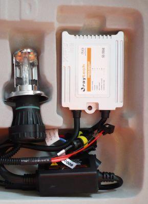 RayTech H4 - Ксенон система H4 биксенон за мотор AC тип 35W - 300% светлина, малки баласти, 24 м. пълна гаранция