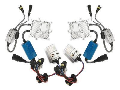 RayTech H4 - Ксенон система H4 само дълги за кола AC тип 45W - 400% светлина, малки баласти, 24 м. пълна гаранция