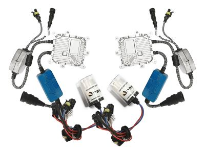 RayTech H13/9008 - Ксенон система H13/9008 за кола AC тип 45W - 400% светлина, малки баласти, 24 м. пълна гаранция