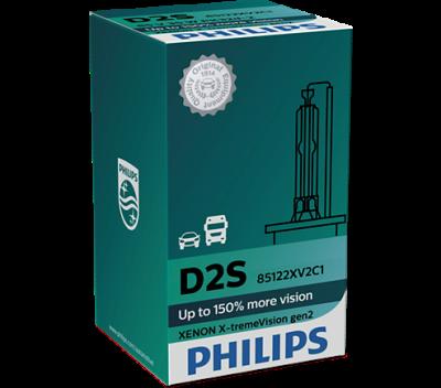 Крушка D2S 35W AC Philips X-treme Vision gen2