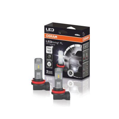 LED система OSRAM за фарове за мъгла H8/H11/H16 Генерация 2 - 6000К  12V 8.2W