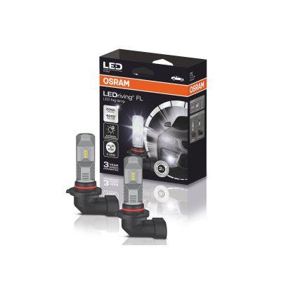 LED система OSRAM за фарове за мъгла H10 Генерация 2 - 6000К  12V 8.2W