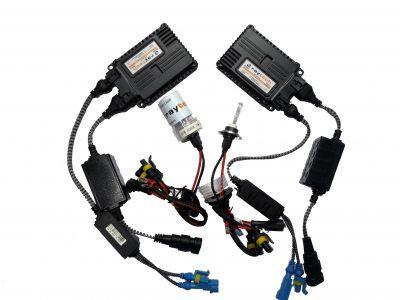 RayTech H7 - Ксенон система H7 за кола AC тип 55W - 450% светлина, малки баласти, 24 м. пълна гаранция