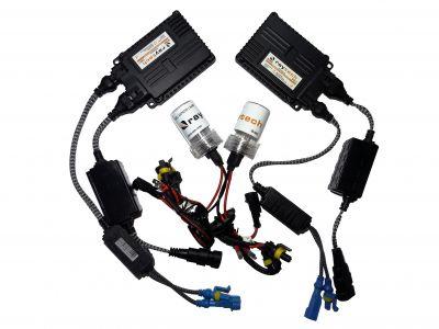 RayTech H4 - Ксенон система H4 ксенон+халоген за кола AC тип 55W - 400% светлина, малки баласти, 24 м. пълна гаранция