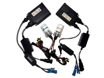 RayTech H8 - Ксенон система H8 за кола AC тип 55W - 450% светлина, малки баласти, 24 м. пълна гаранция