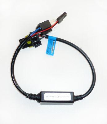 Окабеляване за автомобилна/мотоциклетна система биксенон с контролер (за един фар) 12V – за крушки H4, HB5/9007, H13/9008, HB1/9004, HS1, S1, S2, BA20D