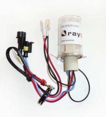 Крушка H4 35W AC ксенон + халоген RayTech