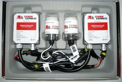 Xenon Express H27 - Ксенон система H27 за кола AC тип 35W - 300% светлина, големи баласти, 12 м. пълна гаранция