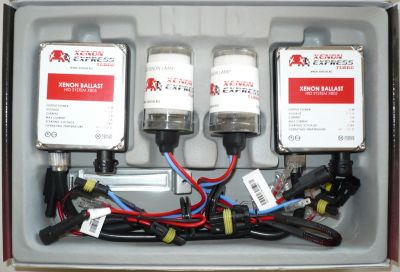 Xenon Express Turbo H7 - Ксенон система H7 за камион (автобус) 24V  AC тип 55W - 450% светлина, големи баласти, 12 м. пълна гаранция