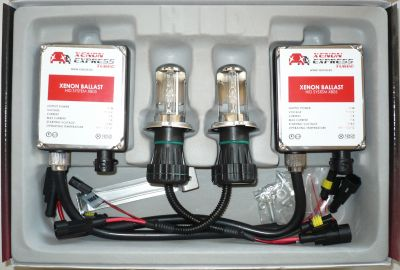 Xenon Express Turbo HB5/9007 - Ксенон система HB5/9007 биксенон за камион (автобус) 24V  AC тип 55W - 450% светлина, големи баласти, 12 м. пълна гаранция