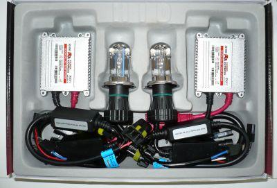 Xenon Express H4 - Ксенон система H4 биксенон за кола AC тип 35W - 300% светлина, малки баласти, 12 м. пълна гаранция