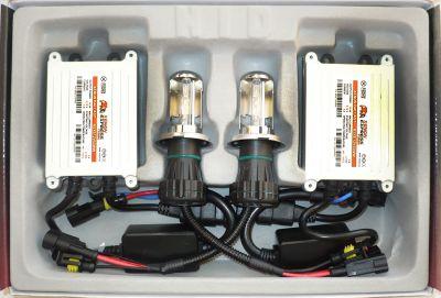 Xenon Express Turbo H4 - Ксенон система H4 биксенон за кола AC тип 55W - 450% светлина, малки баласти, 12 м. пълна гаранция