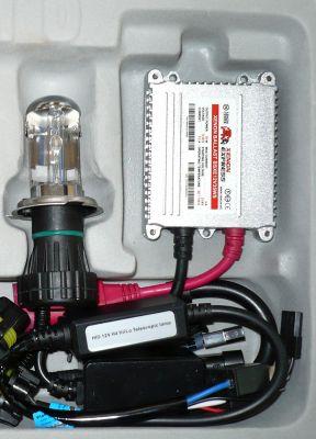 Xenon Express HB5/9007 - Ксенон система HB5/9007 биксенон за мотор AC тип 35W - 300% светлина, малки баласти, 12 м. пълна гаранция