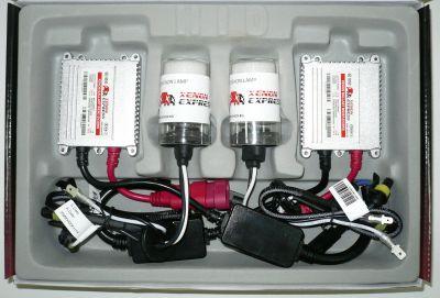 Xenon Express H4 - Ксенон система H4 ксенон+халоген за камион (автобус) 24V AC тип 35W - 300% светлина, малки баласти, 12 м. пълна гаранция