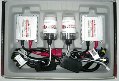 Xenon Express HB5/9007 - Ксенон система HB5/9007 само къси за камион (автобус) 24V  AC тип 35W - 300% светлина, малки баласти, 12 м. пълна гаранция